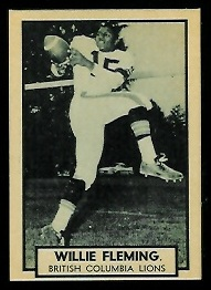 1962 Topps CFL #10 - Willie Fleming - nm+