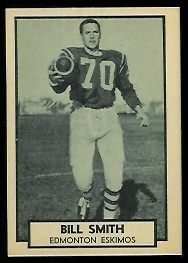 1962 Topps CFL #55 - Bill Smith - nm-mt