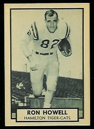 1962 Topps CFL #68 - Ron Howell - nm-mt
