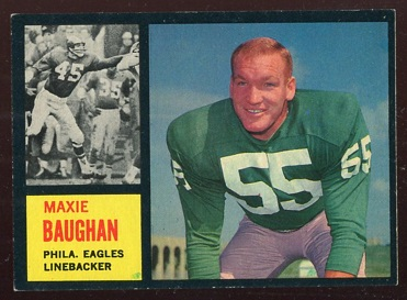1962 Topps #124 - Maxie Baughan - exmt+