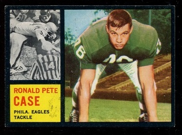 1962 Topps #125 - Pete Case - exmt