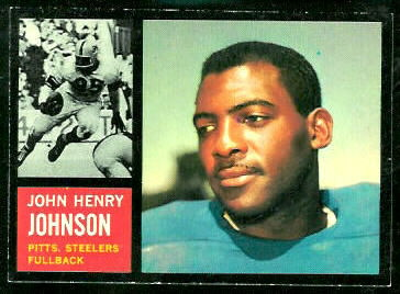 1962 Topps #129 - John Henry Johnson - nm