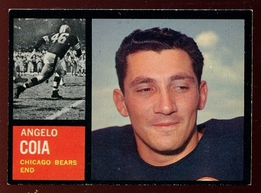 1962 Topps #20 - Angelo Coia - exmt