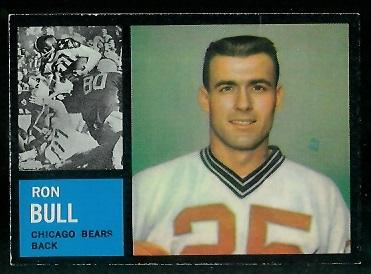 1962 Topps #24 - Ron Bull - ex