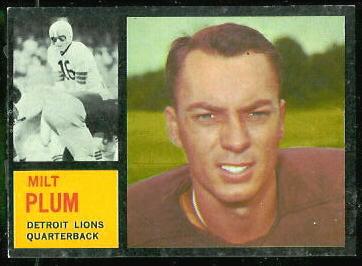 1962 Topps #50 - Milt Plum - nm