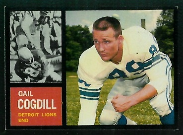 1962 Topps #53 - Gail Cogdill - exmt