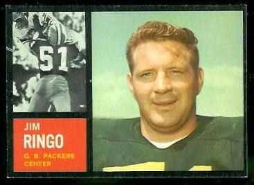 1962 Topps #68 - Jim Ringo - exmt