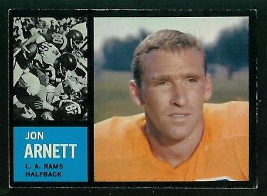 1962 Topps #78 - Jon Arnett - exmt