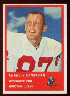 1963 Fleer #38 - Charlie Hennigan - nm