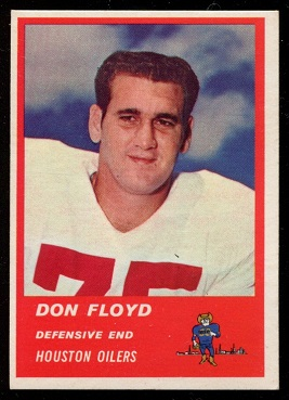 1963 Fleer #43 - Don Floyd - exmt