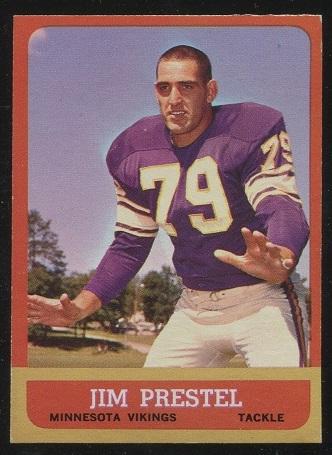 1963 Topps #108 - Jim Prestel - nm