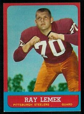 1963 Topps #127 - Ray Lemek - exmt