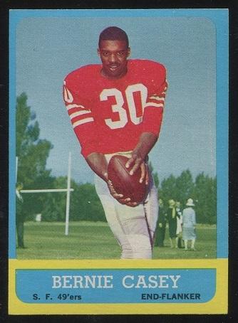 1963 Topps #137 - Bernie Casey - nm