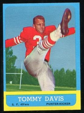 1963 Topps #138 - Tommy Davis - nm+