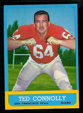 1963 Topps #139 - Ted Connolly - nm+