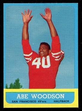 1963 Topps #141 - Abe Woodson - nm