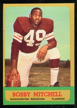 1963 Topps #159 - Bobby Mitchell - exmt