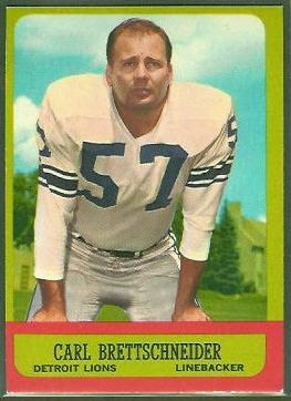 1963 Topps #31 - Carl Brettschneider - nm