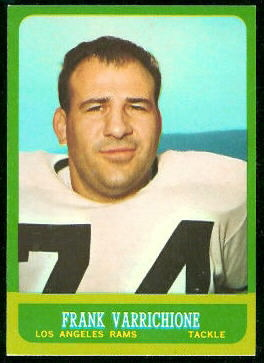 1963 Topps #42 - Frank Varrichione - nm