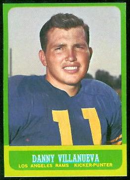 1963 Topps #43 - Danny Villanueva - nm