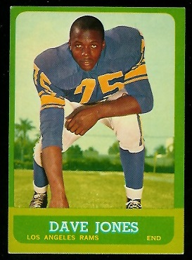 1963 Topps #44 - Deacon Jones - exmt