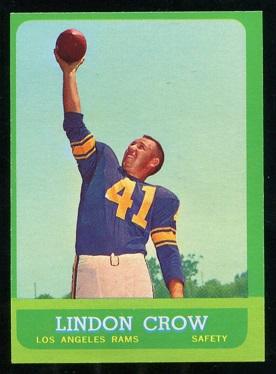 1963 Topps #45 - Lindon Crow - nm