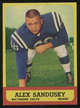 1963 Topps #6 - Alex Sandusky - nm