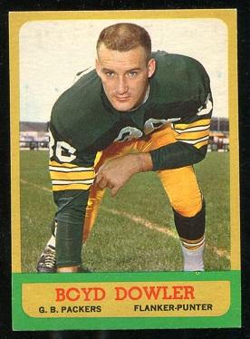 1963 Topps #88 - Boyd Dowler - exmt