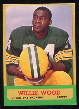 1963 Topps #95 - Willie Wood - nm