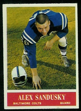 1964 Philadelphia #10 - Alex Sandusky - nm