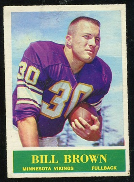1964 Philadelphia #101 - Bill Brown - nm