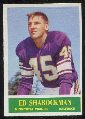1964 Philadelphia #108 - Ed Sharockman - nm