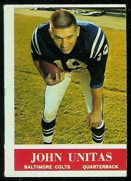 1964 Philadelphia #12 - John Unitas - vg mc