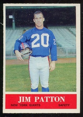 1964 Philadelphia #122 - Jim Patton - nm