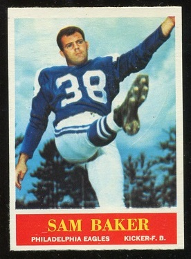 1964 Philadelphia #127 - Sam Baker - nm-mt