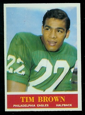 1964 Philadelphia #129 - Timmy Brown - nm-mt