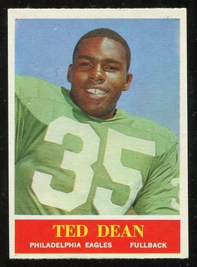 1964 Philadelphia #132 - Ted Dean - nm+
