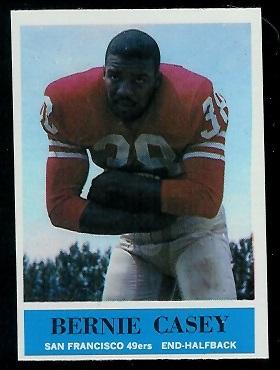 1964 Philadelphia #156 - Bernie Casey - exmt
