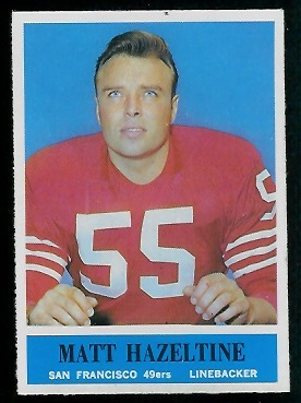 1964 Philadelphia #160 - Matt Hazeltine - nm