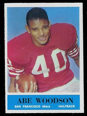 1964 Philadelphia #166 - Abe Woodson - nm