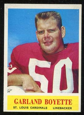 1964 Philadelphia #169 - Garland Boyette - nm