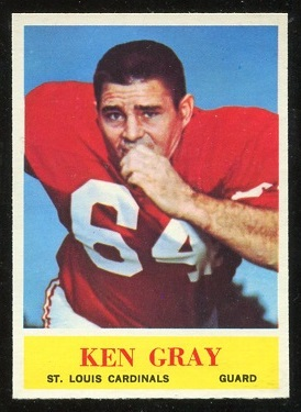 1964 Philadelphia #172 - Ken Gray - nm-mt