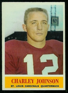 1964 Philadelphia #174 - Charley Johnson - nm