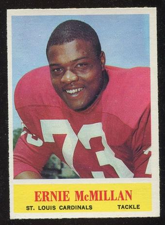 1964 Philadelphia #175 - Ernie McMillan - nm