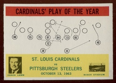 1964 Philadelphia #182 - Cardinals Play of the Year - nm
