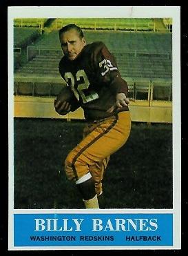 1964 Philadelphia #183 - Bill Barnes - exmt