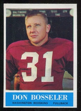 1964 Philadelphia #184 - Don Bosseler - nm oc