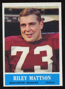 1964 Philadelphia #188 - Riley Mattson - nm+ oc