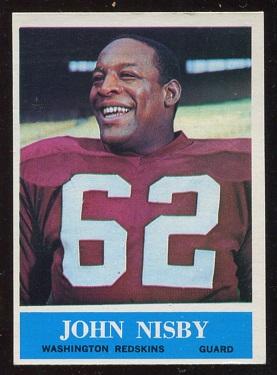 1964 Philadelphia #190 - John Nisby - nm oc