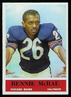 1964 Philadelphia #21 - Bennie McRae - nm